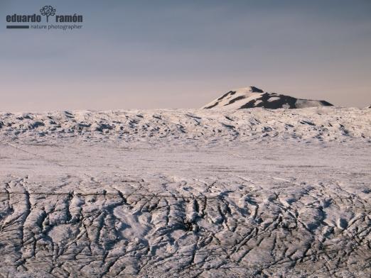 Skalafellsjokull area, Iceland east.